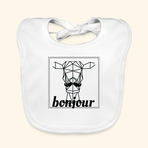Bonjour - Bio-slabbetje voor baby's