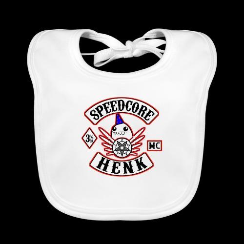 Speedcore Henk MC Logo - Bio-slabbetje voor baby's