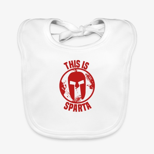 this is sparta - Organic Baby Bibs