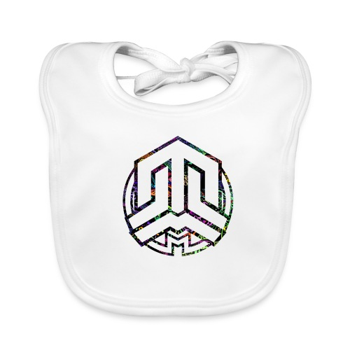 Cookie logo colors - Baby Organic Bib
