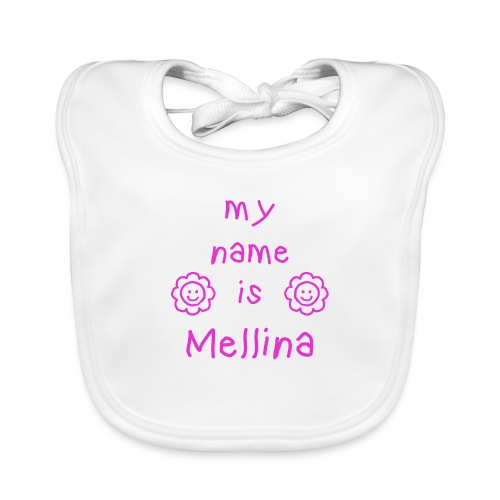 MELLINA MY NAME IS - Bavoir bio Bébé