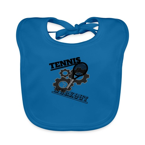 TENNIS WORKOUT - Organic Baby Bibs