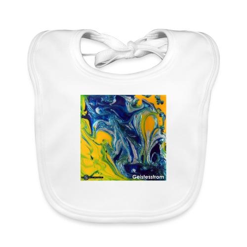 TIAN GREEN Mosaik DE031 - Geistesstrom - Baby Bio-Lätzchen
