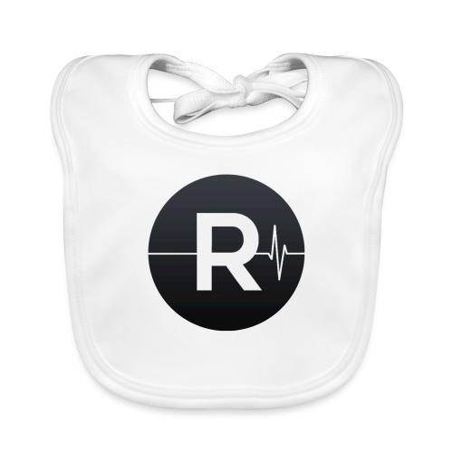 REVIVED Small R (Black Logo) - Baby Organic Bib