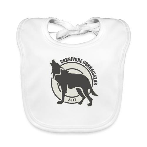 Fleischfresser - Grillshirt - Der mit dem Wolf heu - Baby Bio-Lätzchen