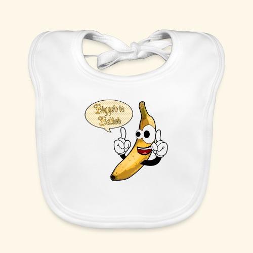 The big banana - Bavaglino ecologico per neonato