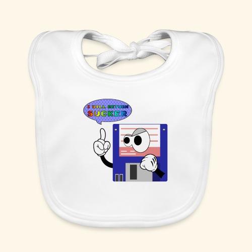 floppy disk come back again - Bavaglino ecologico per neonato