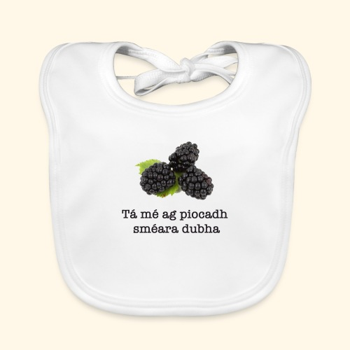 Picking blackberries - Organic Baby Bibs