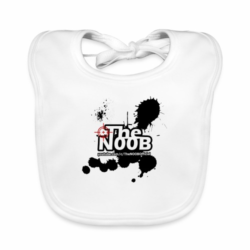 TheNOOB Official Logo Paint Splat! - Baby Organic Bib