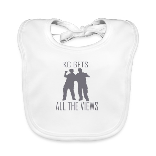 KC Gets All The Views - Baby Organic Bib
