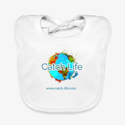 Catch Life Color - Baby Organic Bib
