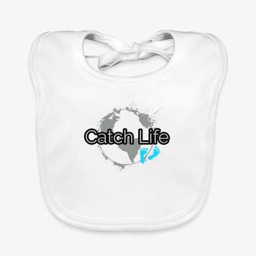 Catch Life Black - Baby Organic Bib