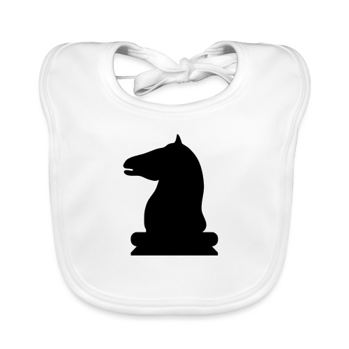 The Black Rider - Baby Organic Bib