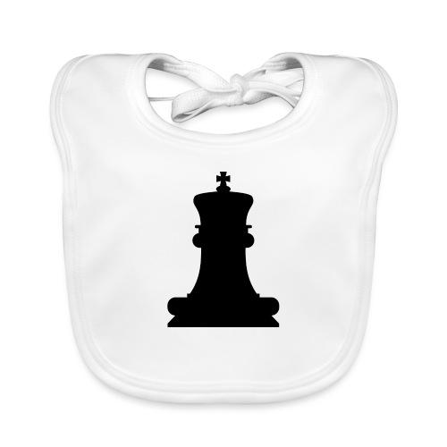 The Black King - Baby Organic Bib