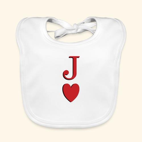 Valet de trèfle - Jack of Heart - Reveal - Bavoir bio Bébé