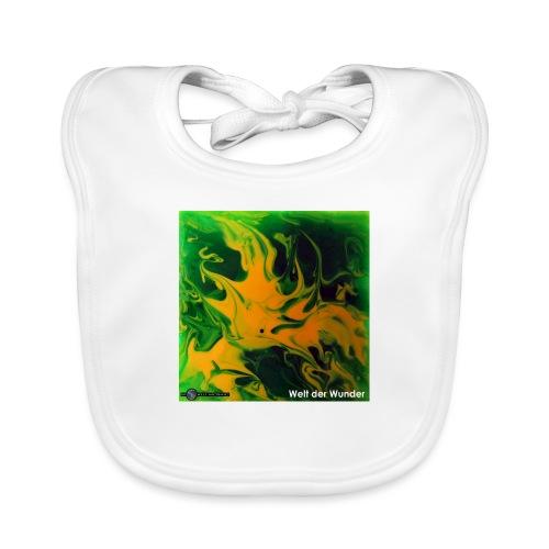 TIAN GREEN Mosaik DE002 - Welt der Wunder - Baby Bio-Lätzchen