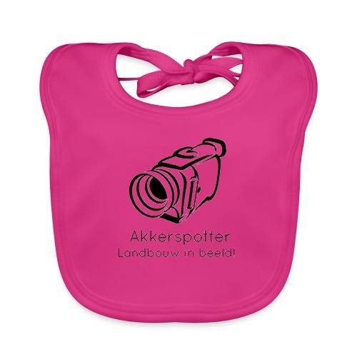 Logo akkerspotter - Bio-slabbetje voor baby's