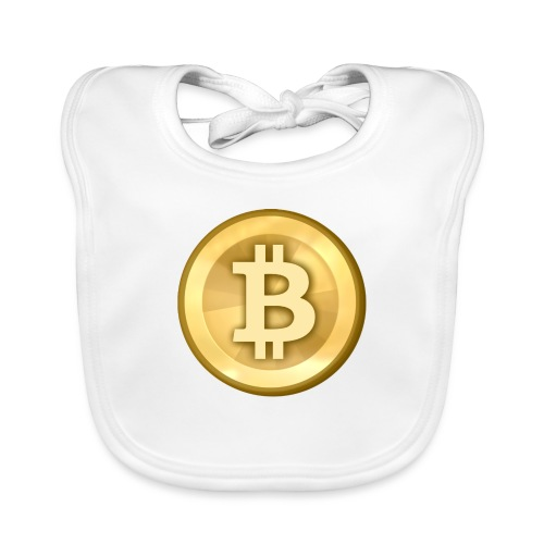Bitcoin Gold Coin - Organic Baby Bibs