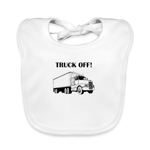 Truck off! - Organic Baby Bibs