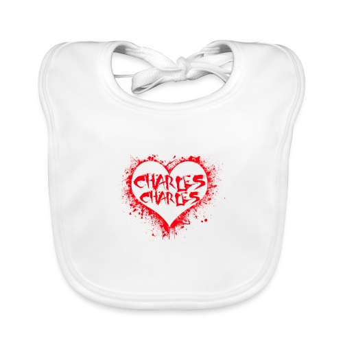 CHARLES CHARLES VALENTINES PRINT - LIMITED EDITION - Organic Baby Bibs