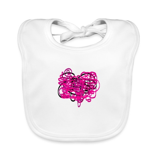 delicious pink - Organic Baby Bibs