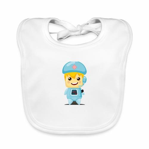 robot medico - Babero ecológico bebé