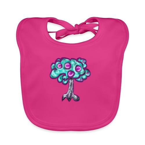 Neon Tree - Baby Organic Bib