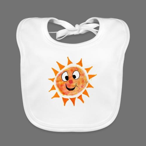 Aurinko - Vauvan luomuruokalappu