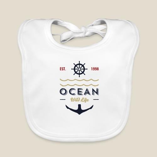 Outdoor ocean - Bavoir bio Bébé