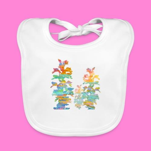 Orchid painting - Bio-slabbetje voor baby's