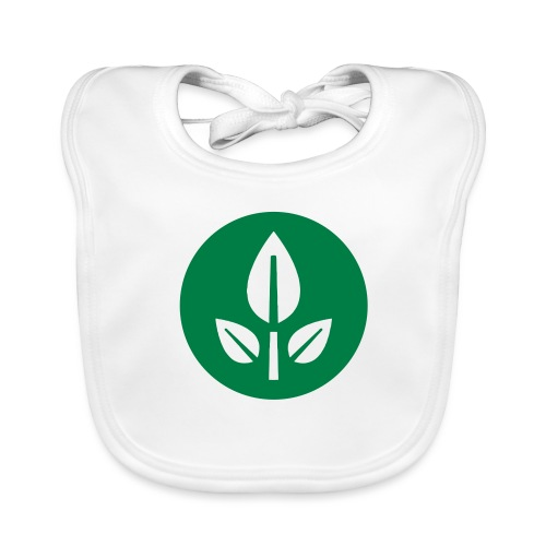 EVE Flower Plant Symbol - Organic Baby Bibs