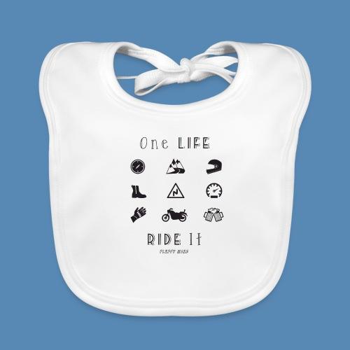 One life, Ride it - Bavoir bio Bébé