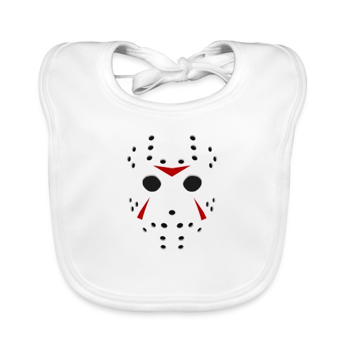Hockey mask - Bavoir bio Bébé