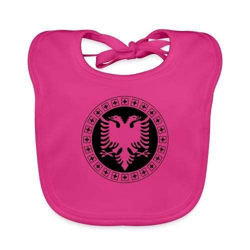 Albanien Schweiz Shirt - Baby Bio-Lätzchen