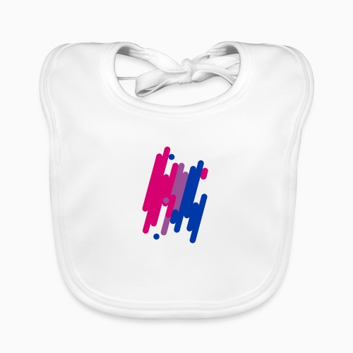 Abstract Bifil design - Baby Organic Bib
