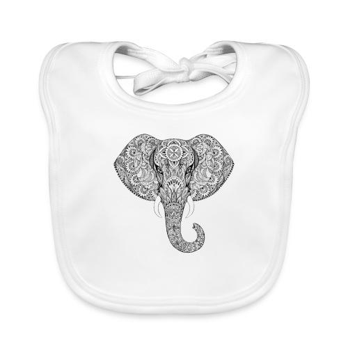 Elephant - Bavoir bio Bébé