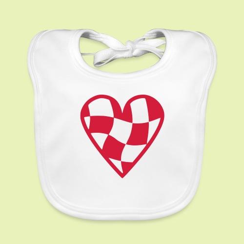 Brabant hart - Bio-slabbetje voor baby's