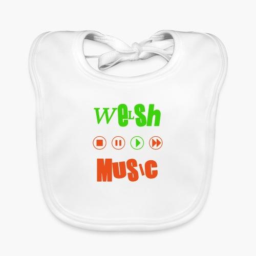 Welsh Music - Baby Organic Bib
