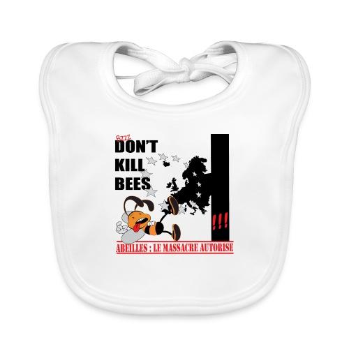 don't kill bees - Bavoir bio Bébé
