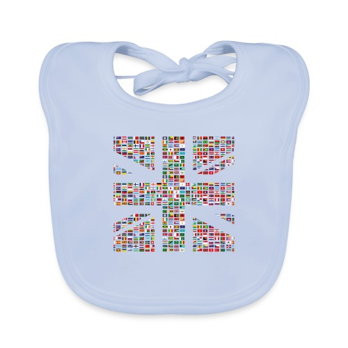 The Union Hack - Organic Baby Bibs