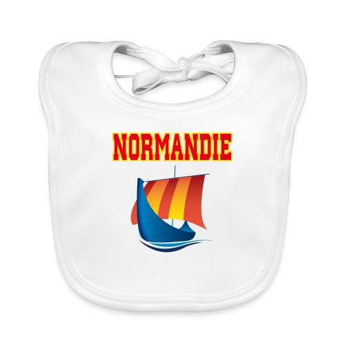 Normandie Drakar - Bavoir bio Bébé