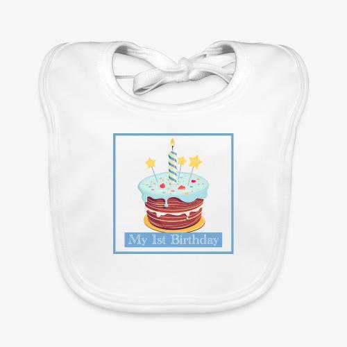 Birthday - Bavaglino ecologico per neonato