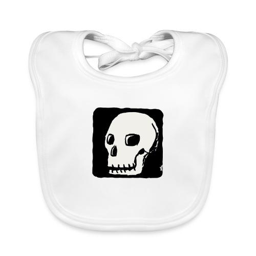 Crâne souriant - Bavoir bio Bébé