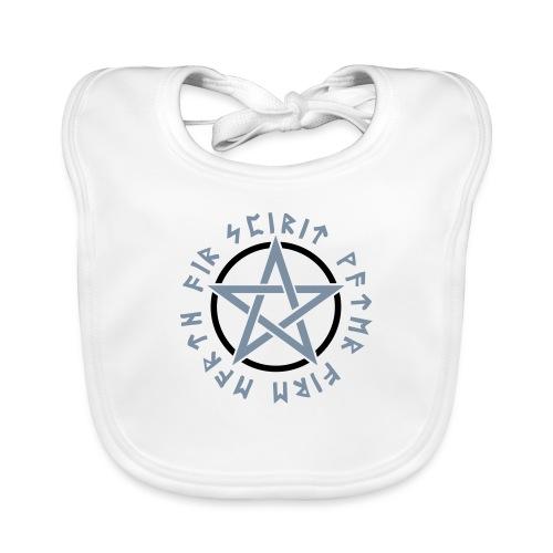 Pentagramm, Elemente, Runen, Magie, Symbol, Stern - Baby Bio-Lätzchen