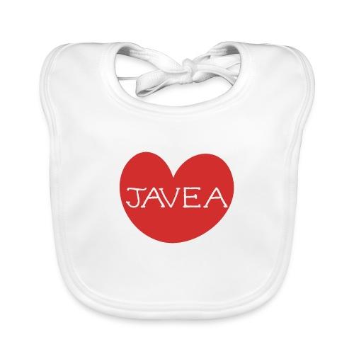 LOVE JAVEA - Babero ecológico bebé