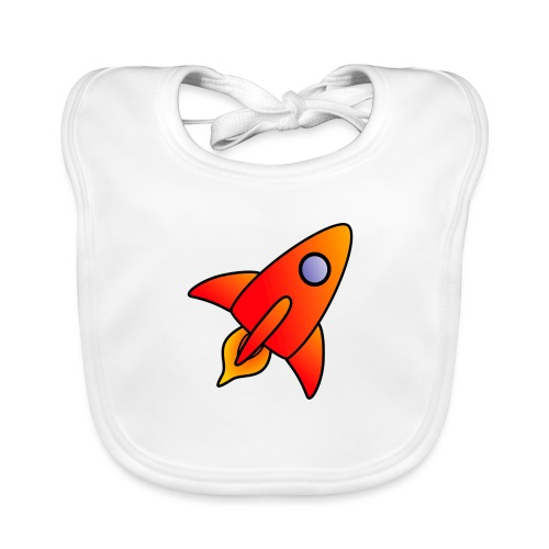 Red Rocket - Baby Organic Bib
