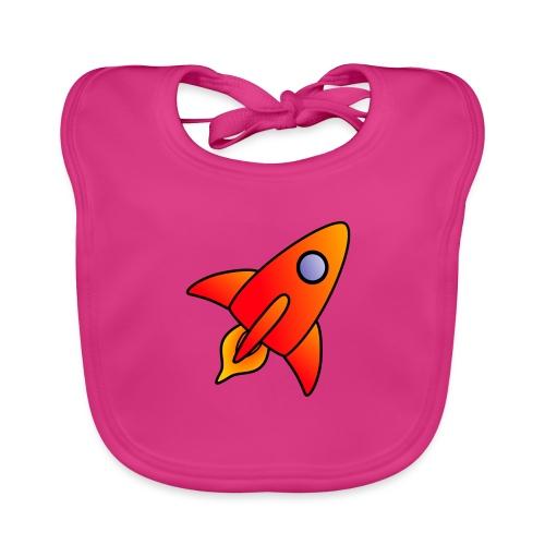 Red Rocket - Baby Organic Bib