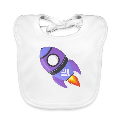 LTOnaut rocket - Baby Organic Bib