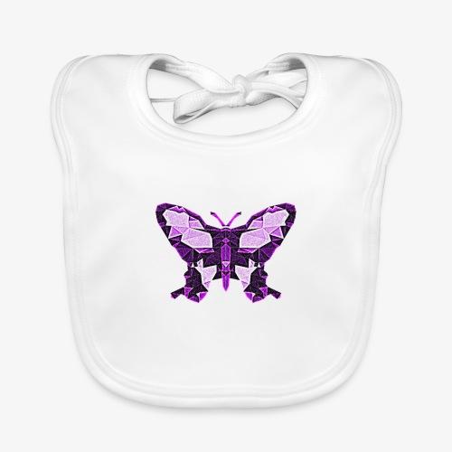 Fioletowy motyl - Ekologiczny śliniaczek