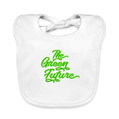 THE Green Future - Typo - Baby Bio-Lätzchen